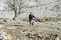 Irak 2000.Peshmerga du KDP dans la région entre Amadia et la frontière turque.Iraq 2000.A peshmergas in Badinan