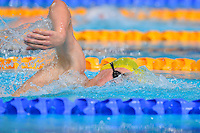Mack Horton of AUS competes in 1500 meter final during Commonwealth Games Swimming, Tuesday, July 29, 2014 in Glasgow, United Kingdom. (Mo Khursheed/TFV Media via AP Images)
