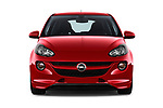 Car photography straight front view of a 2017 Opel Adam S 3 Door Hatchback