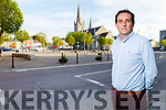Jimmy Moloney (Cathaoirleach of the Listowel Munisipal District) standing in Listowel on Monday