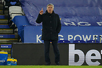 Everton manager Carlo Ancelotti during the Premier League behind closed doors match with supporters unable to attend due to current government covid-19 guidelines, between Leicester City and Everton at the King Power Stadium, Leicester, England on 16 December 2020. PUBLICATIONxNOTxINxUK Copyright: xAndyxRowlandx PMI-3818-0041<br /> Photo Imago/Insidefoto <br /> ITALY ONLY