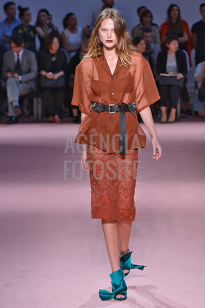 Milao, Itália '09/2014 - Desfile de N 21 durante a Semana de moda de Nova Milao  -  Verao 2015. <br /> <br /> Foto: FOTOSITE