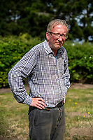 BNPS.co.uk (01202 558833)<br /> Pic: MaxWillcock/BNPS<br /> <br /> Robin Edmonds outside.<br /> <br /> A homeowner is at his wits end after being repeatedly attacked by violent seagulls.<br /> <br /> Robin Edmonds was forced to flee for cover from the 'vindictive' bird that dive-bombed him as he left his home.<br /> <br /> The 49-year-old has been left in fear about going outside and has even bought a special hat to protect him.