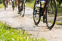 rain made for gravel sections to become mud sections<br /> <br /> Dwars door het Hageland (1.1)<br /> 1 Day Race: Aarschot > Diest (194km)