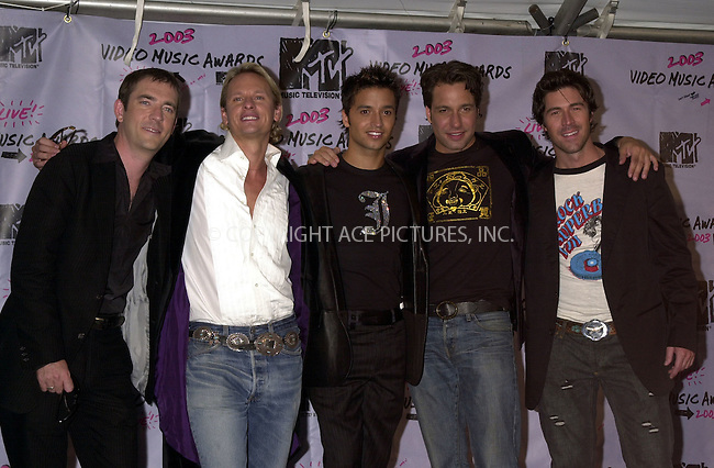 """Cast of """"Queer Eye For the Straight Guy"""" at 2003 Video Music Awards. New York, August 28, 2003. Please byline: NY Photo Press.   ..*PAY-PER-USE*      ....NY Photo Press:  ..phone (646) 267-6913;   ..e-mail: info@nyphotopress.com"""