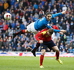 Bilel Mohsni flying into a tackle