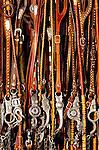 Collection of vintage sterling silver horse bits. Santa Margarita, California