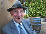 Leo Wallace poses at a winery in Sonoma County, California.