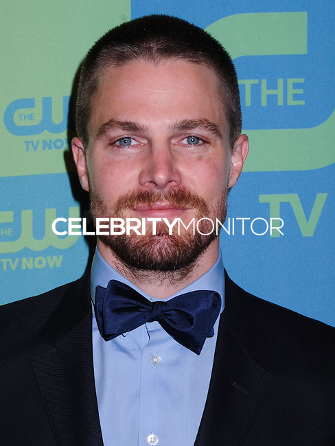 NEW YORK CITY, NY, USA - MAY 15: Stephen Amell at The CW Network's 2014 Upfront held at The London Hotel on May 15, 2014 in New York City, New York, United States. (Photo by Celebrity Monitor)