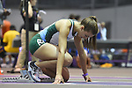 Tulane Women's Track and Field compete in the LSU Purple Tiger Invitational at the Carl Maddox Fieldhouse on January 8,2016.