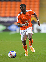 Blackpool's Sullay Kaikai<br /> <br /> Photographer Dave Howarth/CameraSport<br /> <br /> The EFL Sky Bet League One - Blackpool v Wigan Athletic - Tuesday 3rd November 2020 - Bloomfield Road - Blackpool<br /> <br /> World Copyright © 2020 CameraSport. All rights reserved. 43 Linden Ave. Countesthorpe. Leicester. England. LE8 5PG - Tel: +44 (0) 116 277 4147 - admin@camerasport.com - www.camerasport.com