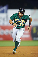 Lynchburg Hillcats designated hitter Anthony Santander (27) running the bases during a game against the Wilmington Blue Rocks on June 3, 2016 at Judy Johnson Field at Daniel S. Frawley Stadium in Wilmington, Delaware.  Lynchburg defeated Wilmington 16-11 in ten innings.  (Mike Janes/Four Seam Images)