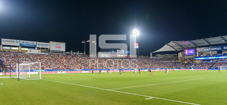 FRISCO, TX - MARCH 11: Toyota Stadium is packed for the USWNT vs Japan game during a game between Japan and USWNT at Toyota Stadium on March 11, 2020 in Frisco, Texas.