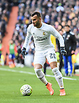 Real Madrid´s Jese Rodriguez during 2015/16 La Liga match between Real Madrid and Atletico de Madrid at Santiago Bernabeu stadium in Madrid, Spain. February 27, 2016. (ALTERPHOTOS/Javier Comos)