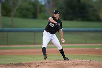 AZL White Sox starting pitcher Ian Clarkin (60) delivers a pitch in a rehab start during an Arizona League game against the AZL Diamondbacks at Camelback Ranch on July 12, 2018 in Glendale, Arizona. The AZL Diamondbacks defeated the AZL White Sox 5-1. (Zachary Lucy/Four Seam Images)