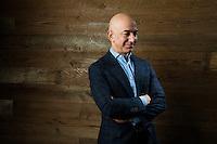 Portrait of Amazon CEO Jeff Bezos. Photo by Daniel Berman/www.bermanphotos.com Jeff Bezos portrait by Daniel Berman/www.bermanphotos.com
