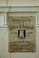 "Europe/France/Ile-de-France/Paris : ""BELLE EPOQUE"" - Restaurant ""La Tour d'Argent""<br /> PHOTO D'ARCHIVES // ARCHIVAL IMAGES<br /> FRANCE 1990"