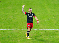 WASHINGTON, DC - NOVEMBER 8: Paul Arriola #7 of D.C. United moves to midfield during a game between Montreal Impact and D.C. United at Audi Field on November 8, 2020 in Washington, DC.