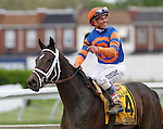 May 16, 2014:  Stopchargingmaria, trained by Todd Pletcher and ridden by Javier Castellano, wins the Black-Eyed Susan Stakes at Pimlico Race Course in Baltimore, MD. ©Joan Fairman Kanes/ESW/CSM