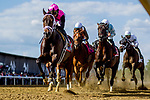 May 14, 2021: Last Judgement, #11, ridden by jockeyJose Ortiz, wins the Pimlico Special Match Series Stakes on Black-Eyed Susan Day at Pimlico Race Course in Baltimore, Maryland. Alex Evers/Eclipse Sportswire/CSM