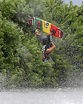 September 13, 2014:  Scenes from the WWA Wakeboard World Championships at Mills Pond Park in Fort Lauderdale, FL.   Men's  Professional Wakeboarder Joshua Palma USA. Liz Lamont/ESW/CSM