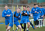St Johnstone Training…07.04.17<br />Brian Easton, David Wotherspoon and Chris Millar pictured during training this morning at McDiarmid Park ahead of tomorrow's trip to Inverness<br />Picture by Graeme Hart.<br />Copyright Perthshire Picture Agency<br />Tel: 01738 623350  Mobile: 07990 594431