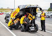 funny car, Camry, J.R. Todd, DHL, crew