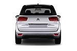 Straight rear view of 2017 Citroen C4-Picasso Shine 5 Door Mini Mpv Rear View  stock images