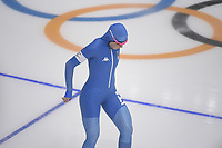 OLYMPIC GAMES: PYEONGCHANG: 18-02-2018, Gangneung Oval, Long Track, 500m Ladies, Francesca Bettrone (ITA), ©photo Martin de Jong
