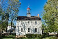 The Academy schoolhouse at Ephrata Cloister, Ephrata , Pennsylvania, USA Circa 1837