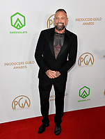 SANTA MONICA, USA. January 18, 2020: Brad Carpenter at the 2020 Producers Guild Awards at the Hollywood Palladium.<br /> Picture: Paul Smith/Featureflash