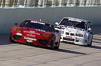 #33  Scuderia Ferrari of Washington 360GT and the #69  Marcus Motorsport BMW M3  class: GT