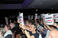 A full arena of anti-brexit supporters display their opinion during the rally<br /> <br /> Jeff Thomas Photography -  www.jaypics.photoshelter.com - <br /> e-mail swansea1001@hotmail.co.uk -<br /> Mob: 07837 386244 -