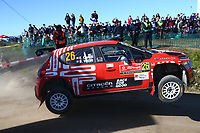 23rd May 2021; Felgueiras, Porto, Portugal; WRC Rally of Portugal, stages SS16-SS20;  Eric Camilli-Citroen C3 WRC2