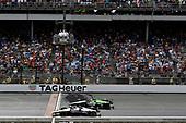 Jordan King, Rahal Letterman Lanigan Racing Honda, Oriol Servia, Arrow Schmidt Peterson Motorsports Honda
