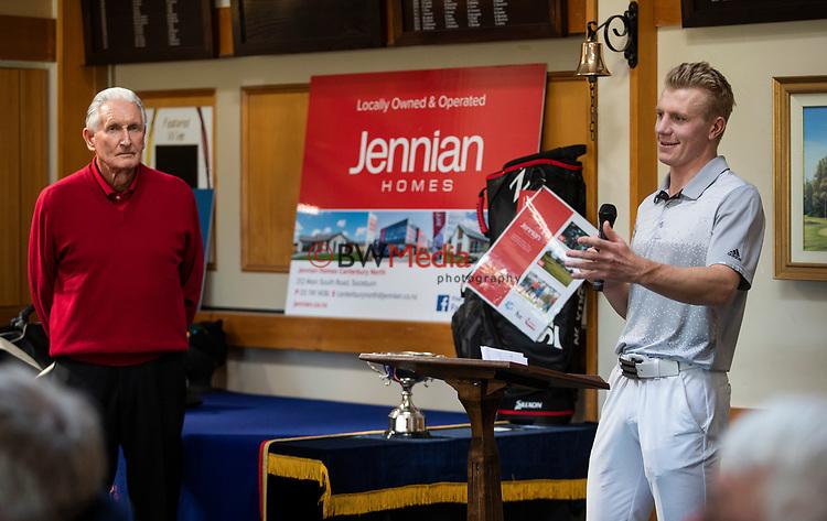 James Anstiss. Jennian Homes Harewood Open Golf, Charles Tour, Harewood Golf Club, Christchurch, Sunday 7th October 2018. Photo: Joseph Johnson/www.bwmedia.co.nz