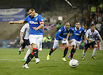 Lee McCulloch scores the fourth goal for Rangers from the penalty spot
