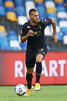 Marko Pjaca of Genoa CFC<br /> during the Serie A football match between SSC Napoli and Genoa CFC at stadio San Paolo in Napoli (Italy), September 27, 2020. <br /> Photo Cesare Purini / Insidefoto