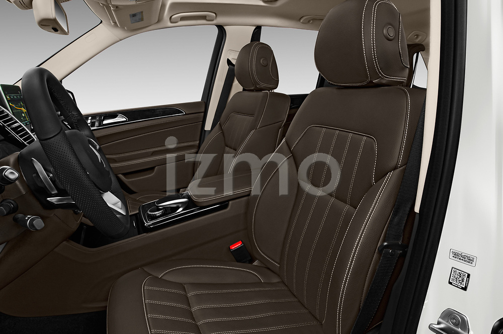 Front seat view of 2018 Mercedes Benz GLE AMG-43 5 Door SUV Front Seat  car photos