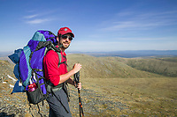 The Pinnell Mountain National Recreation Trail is part of the Steese National Conservation Area, managed by the Bureau of Land Management, encompassing 1.2 million acres of public land about 100 miles northeast of Fairbanks along the Steese Highway.