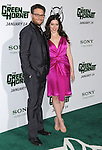 Seth Rogen and Lauren Miller attends the Columbia Pictures' Premiere of The Green Hornet held at The Grauman's Chinese Theatre in Hollywood, California on January 10,2011                                                                               © 2010 DVS / Hollywood Press Agency