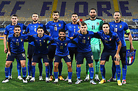 Italy team line up during the UEFA Nations League group stage match between Italy and Bosnia and Herzegovina at Artemio Franchi on September 4, 2020 in Florence, Italy.