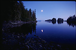 Moonrise at the Brothers Islands