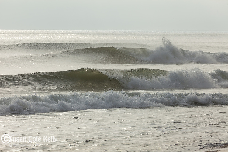 Storm surf at Head of the Meadow Beach, Cape Cod National Seashore, Truro, Massachusetts, USA