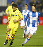 CD Leganes' Omar Ramos (r) and Villarreal CF's Jaume Costa during La Liga match. December 3,2016. (ALTERPHOTOS/Acero)