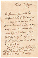 BNPS.co.uk (01202) 558833<br /> Pic: Christie's/BNPS<br /> <br /> A fascinating 220 year old letter has come to light to reveal vaccine delays are not just a modern phenomenon.<br /> <br /> Edward Jenner was described as the 'father of immunology' after developing a technique of inoculating against smallpox.<br /> <br /> However, even he struggled to meet deadlines so he penned an apologetic letter to William Long, a Bond Street surgeon, informing him he could not send him any vaccine that day.