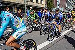 Peloton with Team Netapp - Endura, Vattenfall Cyclassics, Hamburg, Germany, 24 August 2014, Photo by Thomas van Bracht