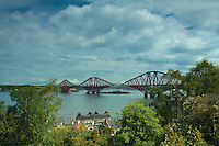 The Forth Rail Bridge from Back Braes, South Queensferry, Lothian
