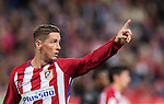 Fernando Torres of Atletico de Madrid reacts during their La Liga match between Atletico de Madrid and Granada CF at the Vicente Calderon Stadium on 15 October 2016 in Madrid, Spain. Photo by Diego Gonzalez Souto / Power Sport Images