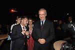 WALTER VELTRONI<br /> FESTA RIUNIFICAZIONE  A VILLA ALMONE RESIDENZA AMBASCIATORE TEDESCO -  ROMA  OTTOBRE 2008
